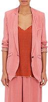 Giada Forte Women's Matte Satin One-Button Jacket