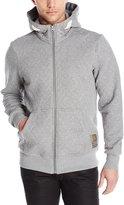 G Star Men's Heldrex Hooded Vest SW Long Sleeve Sweatshirts Platinum