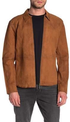 Nudie Jeans Criss Western Nubuck Leather Jacket