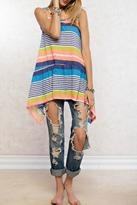 Easel Summer Bright Tunic