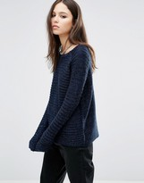 Brave Soul Horizontal Rib Sweater