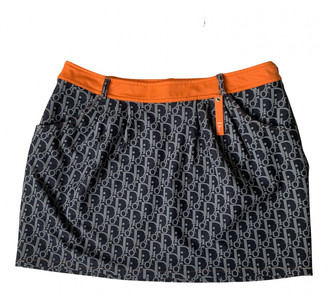 Christian Dior Orange Synthetic Skirts
