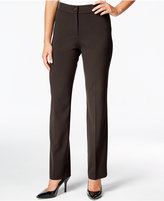 JM Collection Petite Straight-Leg Pants, Only at Macy's