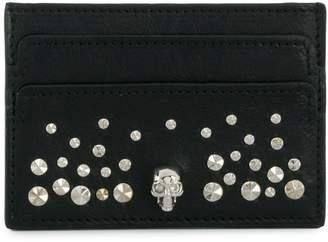 Alexander McQueen studded skull wallet