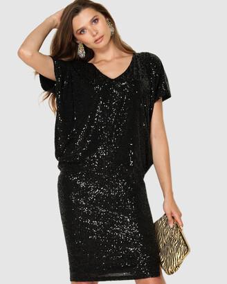 SACHA DRAKE - Women's Black Dresses - Antilles Dress - Size One Size, 8 at The Iconic