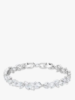 Swarovski Louison Crystal Bracelet, Silver/Clear