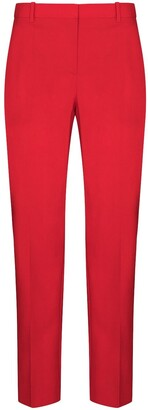 Givenchy Cropped Slim Leg Wool Trousers