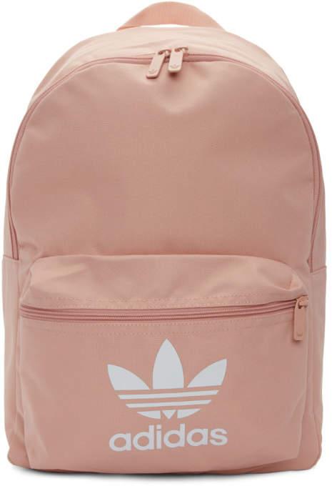 c077fade8125 Pink Adicolor Classic Trefoil Backpack