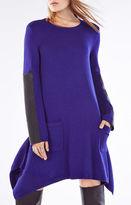 BCBGMAXAZRIA Dahnya Long-Sleeve Wool Blend Dress