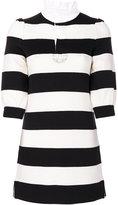 Marc Jacobs striped mini dress
