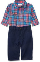 Ralph Lauren Cotton Twill Shirt & Pant Set