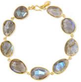 Pippa Small 18-karat Gold Labradorite Bracelet