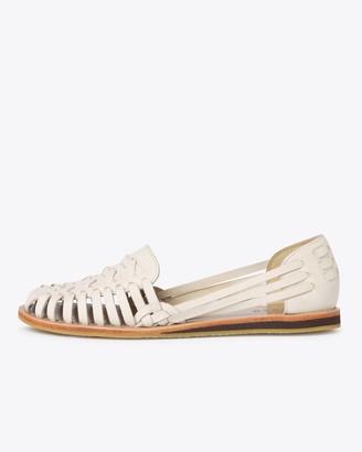 Nisolo Ecuador Huarache Sandal Bone