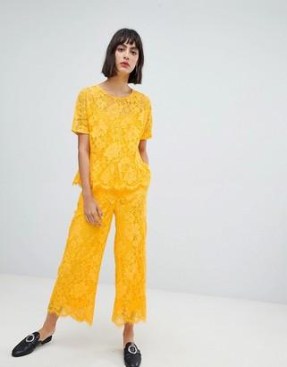 InWear Sabri Lace Cropped Pants