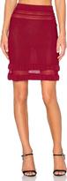 For Love & Lemons Rivington Mini Skirt