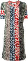 Sonia Rykiel patchwork knit dress - women - Silk/Cashmere - S