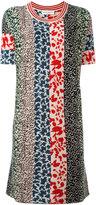 Sonia Rykiel patchwork knit dress