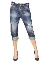 DSquared Big Dean's Brother Cotton Denim Jeans