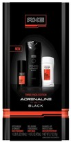Axe Adrenaline and Black Bath And Body Set - 18.08oz
