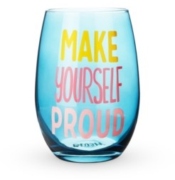 Blush Lingerie Make Yourself Proud Stemless Wine Glass