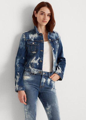 Ralph Lauren Bleach-Dye Denim Jacket