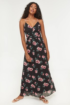 Ardene Maxi Floral Dress with Lace