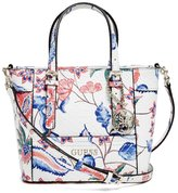 GUESS Delaney Floral Mini Tote