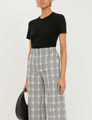 Theory Basic short-sleeved cashmere jumper