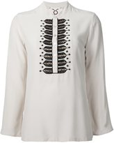 Figue 'Fiamma' embellished tunic top