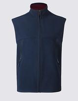 Blue Harbour Textured Zipped Through Fleece Gilet