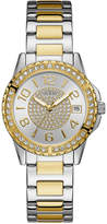 GUESS Women's Two-Tone Stainless Steel Bracelet Watch 36mm U0779L4