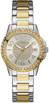 GUESS Women's Two-Tone Stainless Steel Bracelet Watch 36mm U0779L4