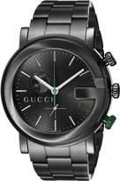 Gucci YA101331 G-Chrono PVD Guilloche Watch
