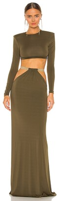 Bronx and Banco Cleopatra Khaki Two Piece