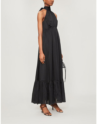 Zimmermann Tiered silk midi dress