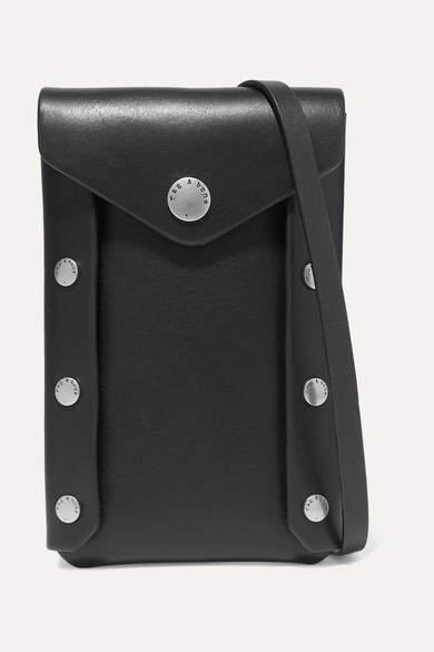 Rag & Bone Atlas Leather Pouch - Black