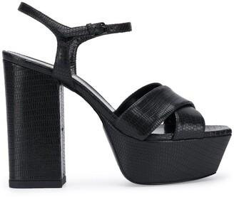 Saint Laurent Farrah 80mm sandals