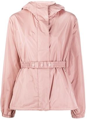 Moncler Elasticated Waist Hooded Jacket