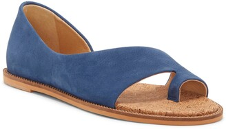 Lucky Brand Falinda Leather Toe Loop Sandal