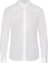 Givenchy Contemporary-fit embroidered long-sleeved shirt