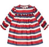 Gucci Baby Sylvie Web print silk dress