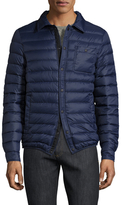 Slate & Stone Nylon Spread Collar Puffer Jacket
