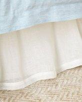 Pom Pom at Home King Harper Linen Voile Dust Skirt