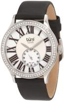 Burgi Women's BU56SS Swiss Quartz Diamond Strap Watch