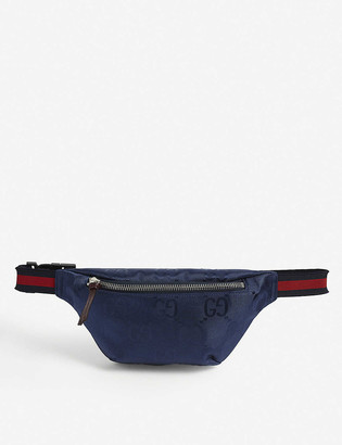 Gucci Kids GG monogram-print nylon bum bag