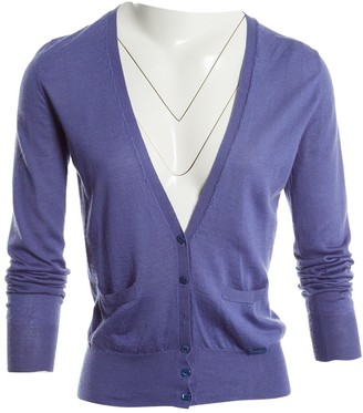 Etro Purple Cotton Knitwear for Women