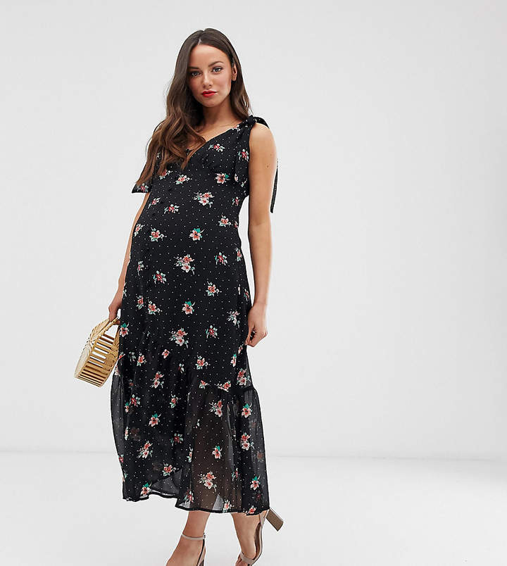 1ffea0b5de Maternity Midi Dress - ShopStyle