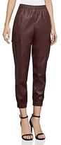 BCBGMAXAZRIA Cian Faux-Leather Cargo Pants