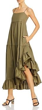 Frame Gemma Tiered High/Low Dress