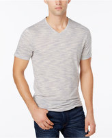 Alfani Men's Premium Stripe V-Neck T-Shirt, Only at Macy's